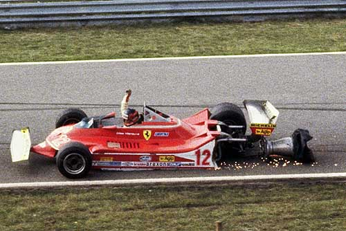 crash van Villeneuve in 1979