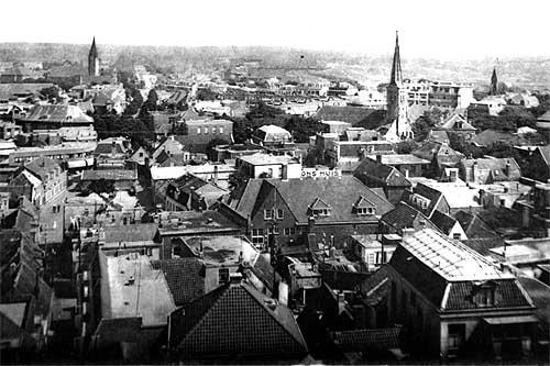 het dorp Zandvoort